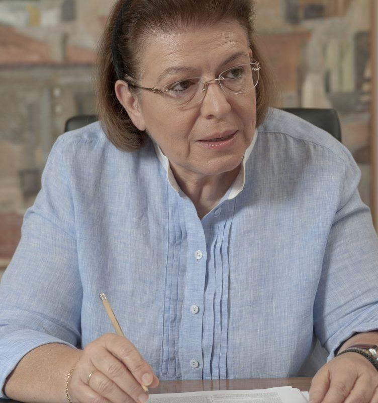 Η Υπουργός Πολιτισμού και Αθλητισμού κ. Λίνα Μενδώνη